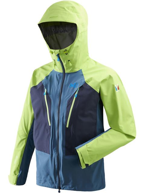 Millet Trilogy V Icon Dual GTX Pro Jacket Men Indian/Acid Green